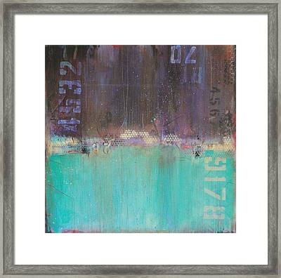 Block 9178 Framed Print