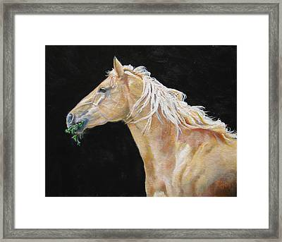 Blondy Framed Print