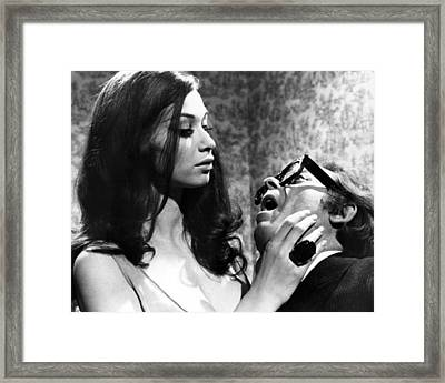 Blood From The Mummy's Tomb  Framed Print by Silver Screen