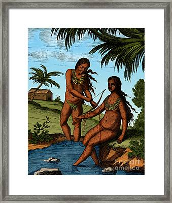 Bloodletting Native Central American Framed Print by Science Source