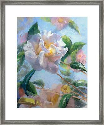 Blooming Flowers Framed Print by Nancy Stutes