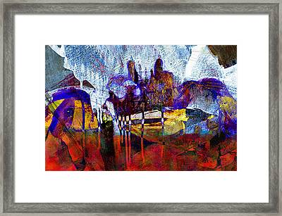 Blue Crab Framed Print by Scott Smith