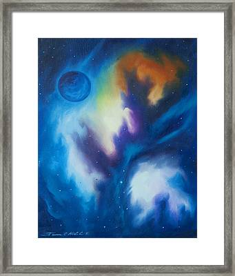 Blue Giant Framed Print by James Christopher Hill
