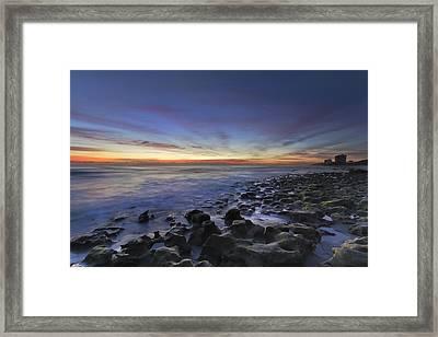 Blue Lagoon Framed Print by Debra and Dave Vanderlaan