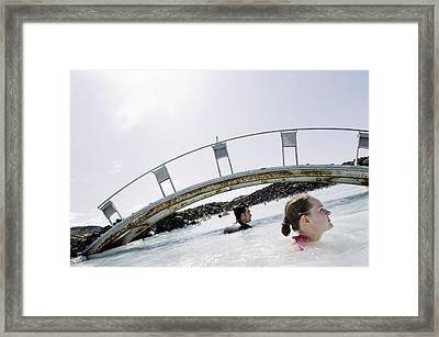 Blue Lagoon Geothermal Spa, Iceland Framed Print