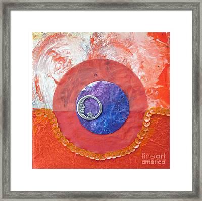 Blue Moon Framed Print by Ellen Miffitt