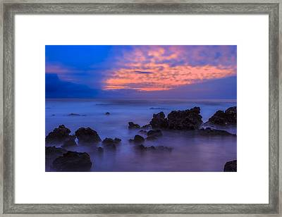 Blue Sunrise 1 Framed Print
