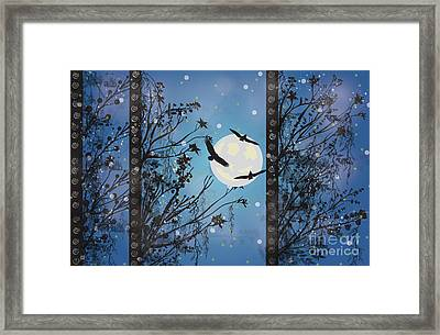 Blue Winter Framed Print by Kim Prowse