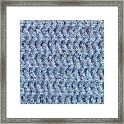 Blue Wool Framed Print by Tom Gowanlock