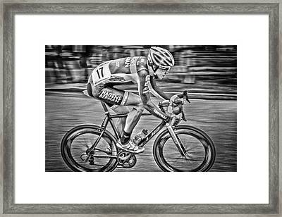 Framed Print featuring the photograph Blur by Matthew Ahola