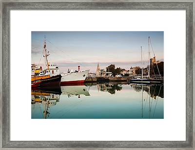 Boats At Maritime Museum, La Rochelle Framed Print by Panoramic Images