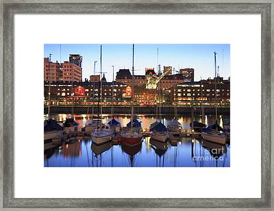 Framed Print featuring the photograph Boats by Bernardo Galmarini