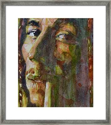 Bob Marley Framed Print by Paul Lovering