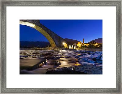 Bobbio Framed Print
