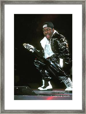Bobby Brown Framed Print by Concert Photos