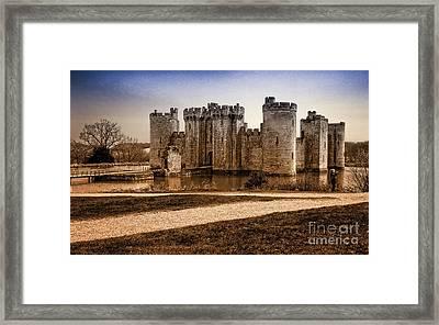 Bodiam Castle Framed Print by Donald Davis