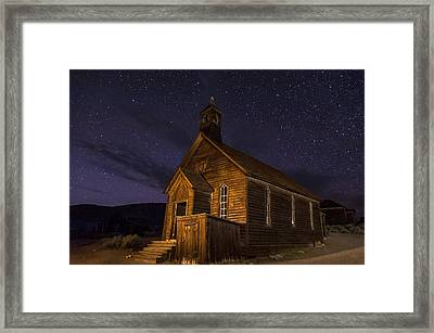 Bodie Church Framed Print by Cat Connor