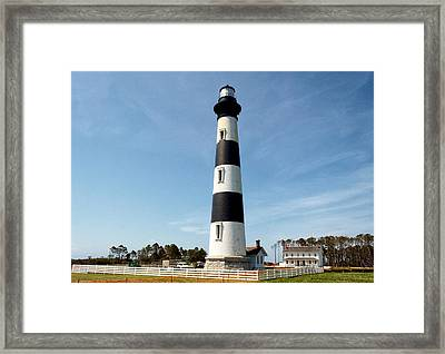 Bodie Island Lighthouse Framed Print by Georgia Fowler