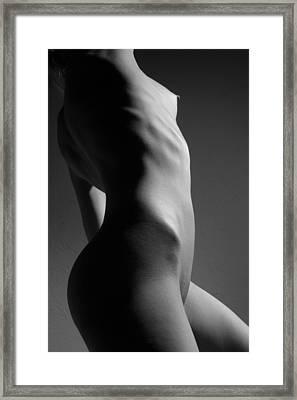Bodyscape Framed Print by Joe Kozlowski