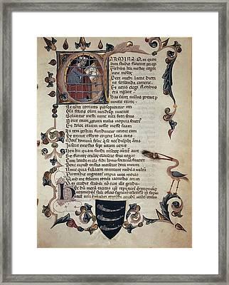 Boethius, Anicius Manlius Severinus Framed Print by Everett