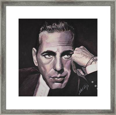 Bogie Framed Print by Shirl Theis