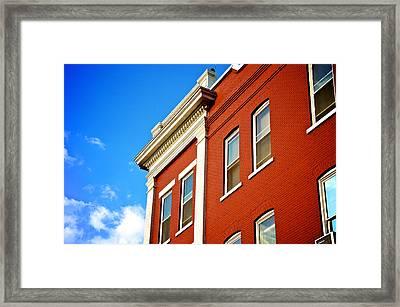 Bold Summer Day Framed Print