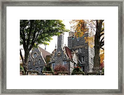 Boldt Castle Framed Print by Tony Cooper
