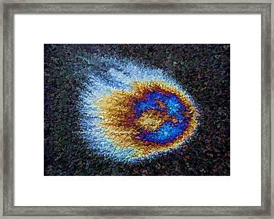 Bolide II Framed Print