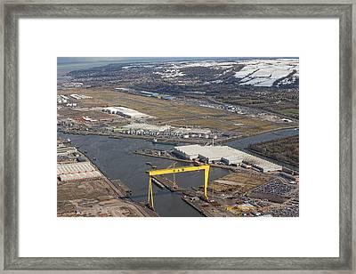 Bombardier, Belfast Framed Print by Colin Bailie