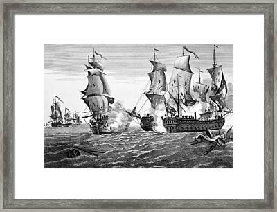Bonhomme Richard, 1779 Framed Print by Granger