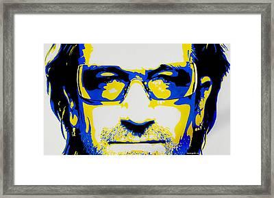 Bono Framed Print