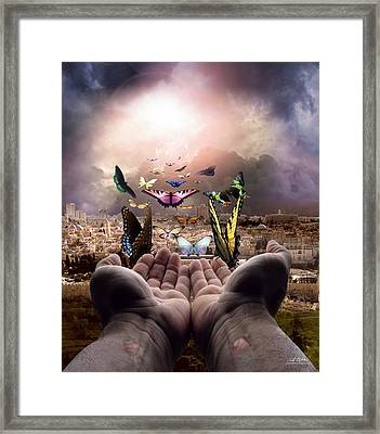 Born Again Israel Framed Print