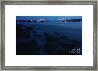 Bosphorus Bridge... Framed Print