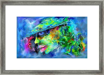Boss Framed Print by Vandana Devendra