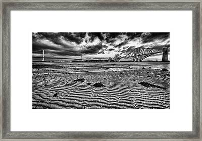 Both Forth Bridges Framed Print