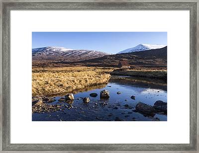 Bothy Framed Print by Karl Normington