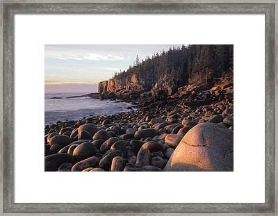Boulder Beach Framed Print