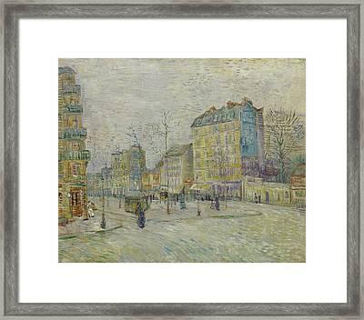 Boulevard De Clichy Framed Print