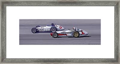 Bowes Seal Fast Roadsters Framed Print