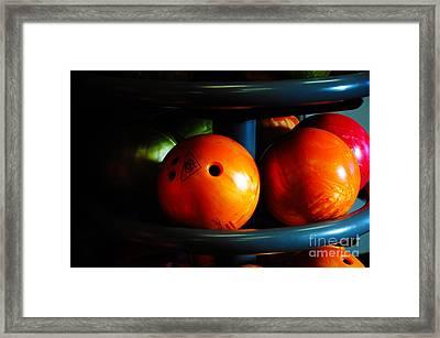 Bowling Balls Framed Print