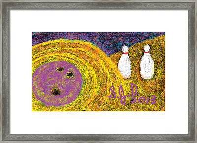 Bowling Framed Print by Joe Dillon
