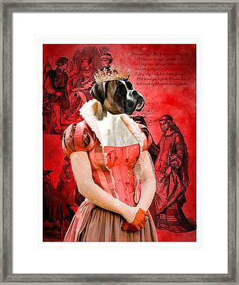 Boxer Art Canvas Print Framed Print