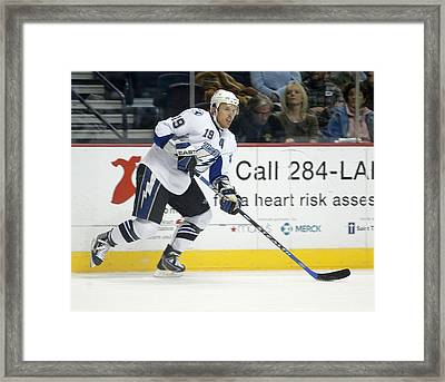 Brad Richards Framed Print by Don Olea