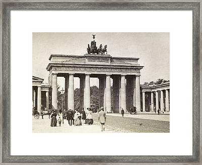 Brandenburg Gate Framed Print