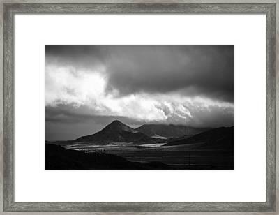 Break After The Storm Framed Print