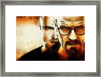 Breaking Bad Framed Print by Ian Hufton