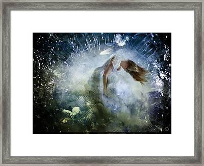 Breaking Free Framed Print by Gun Legler