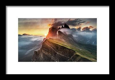 Tyrol Framed Prints