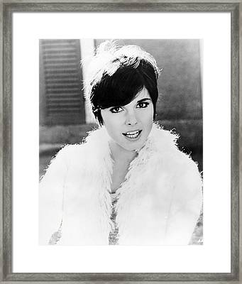 Brenda Vaccaro Framed Print by Silver Screen