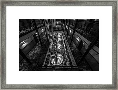 Brewing Up Trouble Framed Print